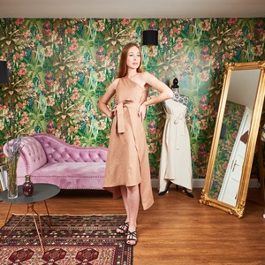 Elvira Sand, Ruha & Divat, Női ruha, Ruha, Varrás, \nTengerparti utazásaim során mindig is vágytam egy különleges nappali lenge viseletre, amely tökélet..., Meska