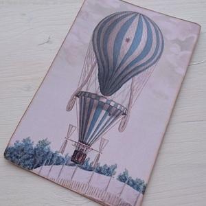 Vintage képeslap - Hőlégballon 7. (SteamPlum) - Meska.hu