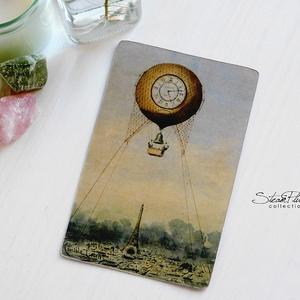 Vintage képeslap - Hőlégballon 10. (SteamPlum) - Meska.hu