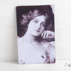 Vintage képeslap - Lily Elsie (SteamPlum) - Meska.hu