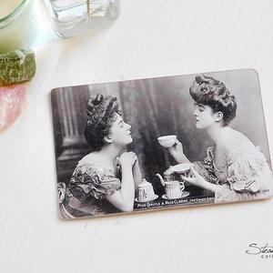 Vintage képeslap - The Gibson Girls 2. (SteamPlum) - Meska.hu