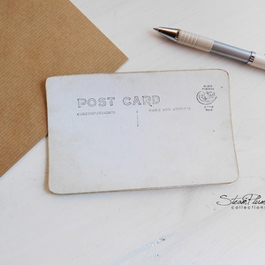 Vintage képeslap - Oldtimer 7. (SteamPlum) - Meska.hu