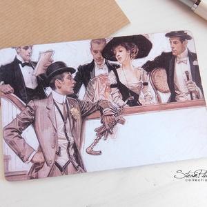 Vintage képeslap - 1920-as évek 1. (SteamPlum) - Meska.hu