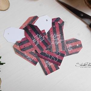 Vintage Karácsony - ajándékkísérő kártya 2. (SteamPlum) - Meska.hu