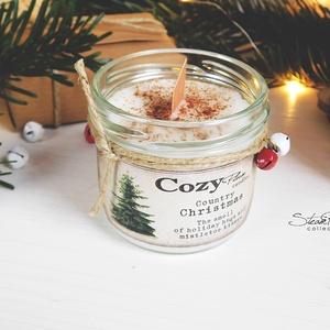 Coutry Christmas szójagyertya - CozyPlum Candles (SteamPlum) - Meska.hu