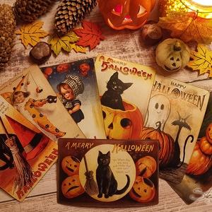 Vintage képeslap - Halloween 6. (SteamPlum) - Meska.hu