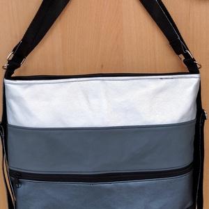 Női divat hátizsák , Táska & Tok, Variálható táska, Varrás, Műbőr, 2in1 női táska. Pántjainak variálásával hátizsákká vagy válltáskává is alakítható. Színei elő..., Meska