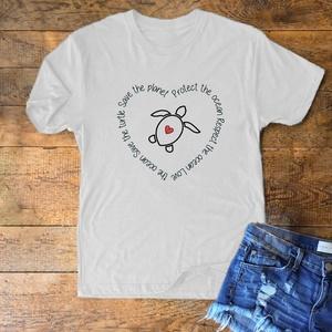 """""""Save the planet"""" póló, Ruha & Divat, Fotó, grafika, rajz, illusztráció, Mindenmás, """"Save the planet"""" póló\n\nFő tulajdonságok:\nAlapanyag: Malfini Basic póló\nÖsszetétele: 100% pamut, 160..., Meska"""