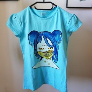Kék üveg lány  (Stravvberry) - Meska.hu