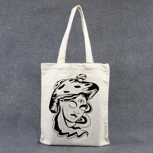 Őszi gomba lány vászon táska , Shopper, textiltáska, szatyor, Bevásárlás & Shopper táska, Táska & Tok, Festett tárgyak, Fotó, grafika, rajz, illusztráció, Elkészülési idő kb. 3 nap\nEgyedi mintával nyomott fehér (natúr színű) vászon táska. A táska erős vás..., Meska