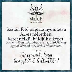 Falikép gyerekszobába, ezüstös sellő falikép, halas dekoráció, sellő gyerekszoba dekoráció, hableány kép  (Studioin) - Meska.hu