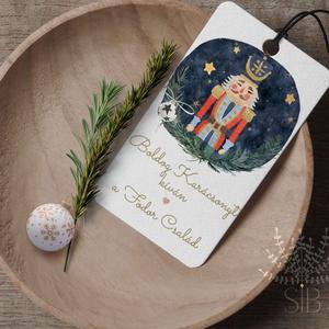 Névreszóló Diótörős karácsonyi ajándékkísérő, Diótörős ünnepi ajándékkísérő, ajándékátadó  , Otthon & Lakás, Karácsony & Mikulás, Karácsonyi képeslap, Fotó, grafika, rajz, illusztráció, Diótörő karácsonyi ajándékkísérő, Diótörős ünnepi ajándékkísérő, ajándékátadó  \n______________\nA cso..., Meska
