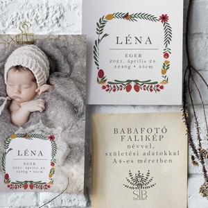 Baba fotó motívumokkal, babaszoba dekoráció, babaszületési ajándék, kismamáknak, keresztelő ajándék, Játék & Gyerek, Babalátogató ajándékcsomag, Babafotó falikép. Motívumok A4-es méretben nyomtatva (29.7 cm x 21 cm)  Egyedi és különleges dísze l..., Meska