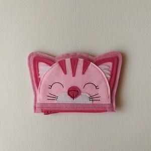 Cicás pénztárca kicsiknek - rózsaszín (sudarnekriszti) - Meska.hu
