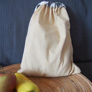 0bd9a06c390a 1 db összehúzható textil zsák, bevásárló táska, műanyag zacskó helyett.
