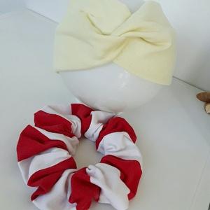 Piros-fehér-beige  - Meska.hu