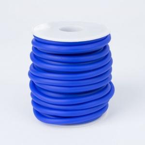 Kék  kaucsuk 5mm/3mm  - Meska.hu