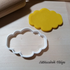 Vintage keret 1 - süteménykiszúró forma, sütipecsét. Linzer, mézeskalács, keksz kiszúró, Otthon & lakás, Konyhafelszerelés, Mindenmás, Mézeskalácssütés, Vintage keret forma sütemény kiszúró. \nSaját tervezésű süteménykiszúró forma, mely 3D nyomtatással k..., Meska