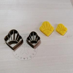 Napsugaras süthető gyurma kiszúrók - polymerclay, kiszúró, kellék, Otthon & Lakás, Konyhafelszerelés, Sütikiszúró, Mindenmás, Ékszerkészítés, Napsugaras belső mintás süthető gyurma kiszúró forma. \nSaját tervezésű kiszúró forma, mely 3D nyomta..., Meska