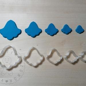 Harangvirág 2 alakú süthető gyurma kiszúrók (5db) - polymerclay, kiszúró, kellék, Otthon & Lakás, Konyhafelszerelés, Sütikiszúró, Mindenmás, Ékszerkészítés, Harangvirág 2 alakú süthető gyurma kiszúró formák. 5 db-os szett!\nSaját tervezésű kiszúró forma, mel..., Meska