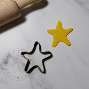 Tengeri csillag - süteménykiszúró forma, sütipecsét. Sütikiszúró. Linzer, mézeskalács, keksz kiszúró, Otthon & Lakás, Konyhafelszerelés, Sütikiszúró, Mindenmás, Tengeri csillag forma sütemény kiszúró. \nSaját tervezésű süteménykiszúró forma, mely 3D nyomtatással..., Meska
