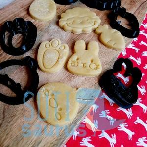Húsvéti mézeskalács kiszúró szett - Szettben 6 db forma, Otthon & Lakás, Konyhafelszerelés, Sütikiszúró, Fotó, grafika, rajz, illusztráció, Mézeskalácssütés, Húsvéti mini mézeskalács kiszúró szettet készítettünk, édes kis pofikkal :) \nKét méretben készülnek:..., Meska