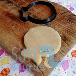 Gömb lufi süteménykiszúró, lufi mézeskalács kiszúró, Otthon & Lakás, Konyhafelszerelés, Sütikiszúró, Gömbölyű lufit formázó sütemény kiszúró / szaggató, kekszkiszúró forma, lufi mézeskalács szaggató   ..., Meska