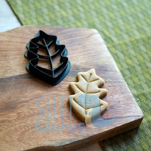 Tölgyfalevél, falevél, levél sütemény keksz linzer mézeskalács kiszúró forma - Meska.hu