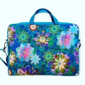 Laptop táska-RENDELHETŐ, Táska & Tok, Laptoptáska, Laptop & Tablettartó,    Szívesen készítek az általad kiválasztott anyagból laptop táskát a lapopod méretére. A táska alap..., Meska