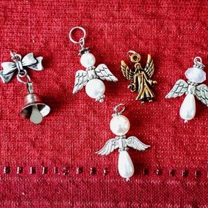 Angyalka csomag ajándék kisérőnek, Karácsony & Mikulás, Karácsonyi csomagolás, Angyalka csomag ajándék kisérőnek, Meska