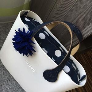 """Obag táska belső  """"Minnie"""" (Mini méret) , Táska, Divat & Szépség, Táska, Válltáska, oldaltáska, Varrás, Obag táskához készült egyedi belső dizájner amerikai pamut anyagból. Belül 2 zseb található. Oldala..., Meska"""