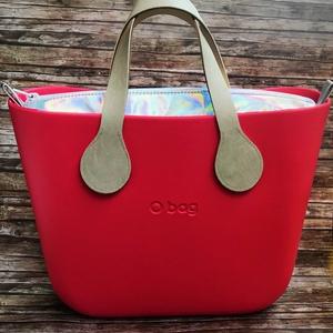 HOLOGRAMOS Obag táska BELSŐ, Táskapánt & Alkatrész, Táska & Tok, Varrás, Obag táskához készült egyedi belső exkluzív hologramos mûbôrbôl!!\n\n\nBelül 2 zseb található. (Basketb..., Meska