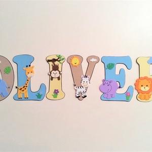 Dekorgumi gyerekszoba dekoráció nagyméretű név állatos 6 betűs név, Gyerek & játék, Gyerekszoba, Otthon & lakás, Dekoráció, Falmatrica, Baba falikép, Mindenmás, Dekorgumi gyerekszoba dekoráció nagyméretű név állatos 6 betűs név\n\nA betűk mérete: 15 cm magas és 2..., Meska