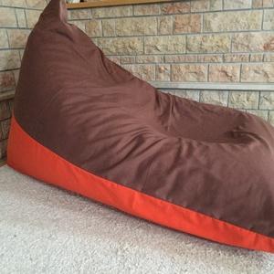 Relax XL babzsákfotel , Bútor, Otthon, lakberendezés, Babzsák, Varrás, Nagyon kényelmes relax babzsákfotel. Megtartja a hátat, fejet, a lábnak is nagyon kényelmes. Ebben ..., Meska
