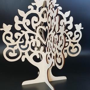 Madaras ékszertartó fa, Dekoráció, Otthon & lakás, Dísz, Ékszer, Ékszertartó, Famegmunkálás, Festett tárgyak, Madaras ékszertartó fa natúr, lakozott vagy festett változatban.\nMérete: 25x29 cm.\nNapi inspirációk ..., Meska