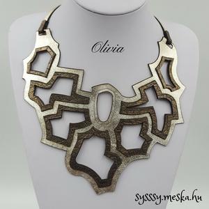 Olivia bőr nyaklánc (Sysssy) - Meska.hu
