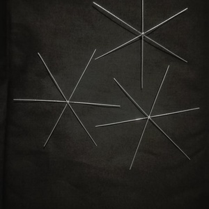 Csillag alapok 6 ágú , Díszíthető tárgyak, Fémmegmunkálás, ötvösség, Karácsonyi csillagok készítésre használható 6 ágú csillagalap. Az átló mérete: kb. 11cm. A második k..., Meska