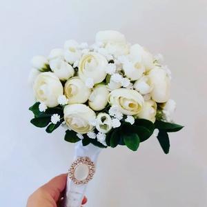 Virágcsokor/anyáknapi/tavaszi/esküvő, Dekoráció, Otthon & lakás, Dísz, Ünnepi dekoráció, Karácsony, Karácsonyi dekoráció, Virágkötés, Bármely alkalomra kiváló,más színben is kérhető.\n, Meska