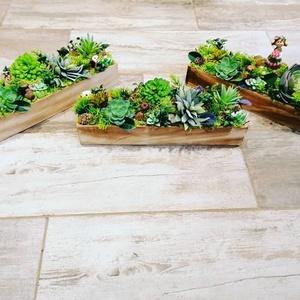 Poszgás kedvelők astaldísze, Asztaldísz, Dekoráció, Otthon & Lakás, Virágkötés, 35cm hosszú mű poszgásos dekoráció, Figurás változat +500ft tal több ., Meska