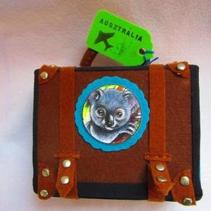 Gyapjas kedvencek Koala, Gyerek & játék, Baba-mama kellék, Játék, Játékfigura, Baba-és bábkészítés, Nemezelés, A Gyapjas kedvencek sorozat kedves kis koalája szívesen szundít bárhol- az asztalodon, a táskádban, ..., Meska