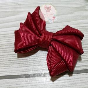Háromszög masni hajgumival, hajcsattal vagy hajpántal többféle színben - Meska.hu