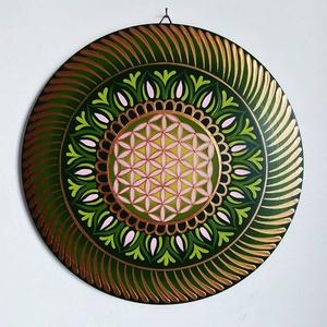 Gyógyító mandala - festmény választható méretben, Otthon & Lakás, Mandala, Dekoráció, Gravírozás, pirográfia, Festészet, Meska
