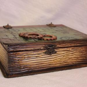 Könyv alakú  doboz (Szanimama) - Meska.hu