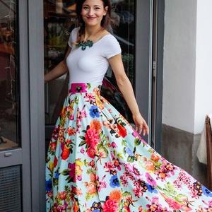 Carrie szoknya, Ruha & Divat, Szoknya, Női ruha, Tüllből és pamutból készült elegáns szoknya., Meska