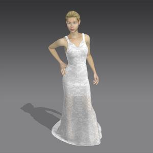 Perszephoné III., Esküvő, Ruha, Menyasszonyi ruha, A képeken látható ruha az ANDREASZANYIbridal kollekció tavasz-nyár 20/21-es darabja.  A kollekció 3D..., Meska