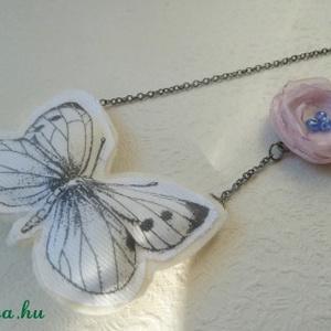 Lepke  virág nyaklánc (Szaszi) - Meska.hu