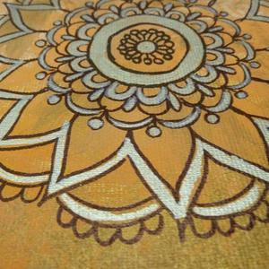 Mandala kép-