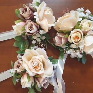 Csuklódísz koszorúslányoknak és/vagy örömanyáknak - esküvő - ékszer - karkötő & csuklódísz - Meska.hu