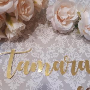 Ültetőkártya-nevek - esküvő - meghívó & kártya - ültetési rend - Meska.hu