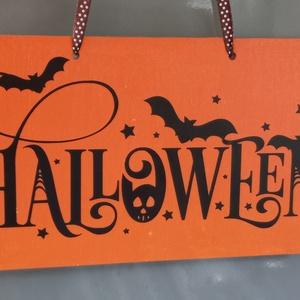 Őszi - Halloween tábladísz ajtóra/nappaliba - Meska.hu